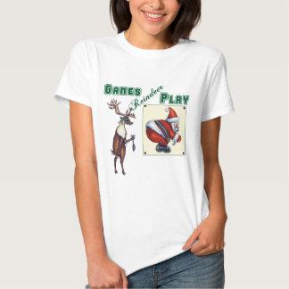 Games Reindeer Play T Shirt