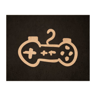 Games Remotes Minimal Cork Paper Prints
