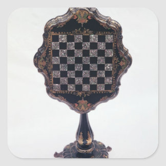 Games table, c.1850-60 square sticker