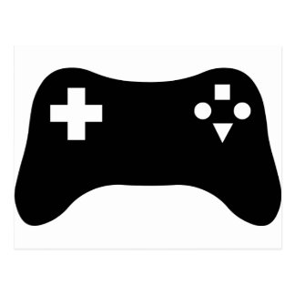 Gaming Console Post Card