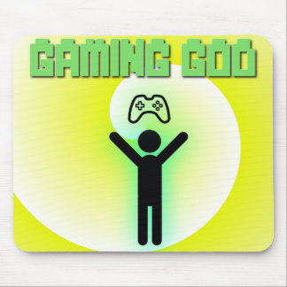 Gaming God Mousepad
