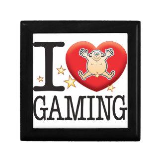 Gaming Love Man Small Square Gift Box