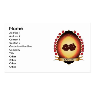 Gaming Mandorla Business Card Template