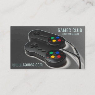 computer gaming business cards zazzle uk