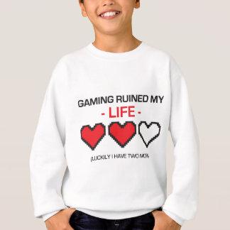 GAMING RUINED MY LIFE! SWEATSHIRT