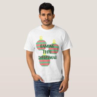 Gaming Through Christmas - Tshirt