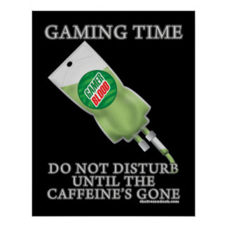 Gaming Time - Soda IV Poster