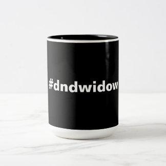 gaming widow Two-Tone mug