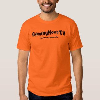 GamingNoobTV Basic T-Shirt Orange