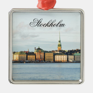 Gamla Stan in Stockholm, Sweden Christmas Ornament