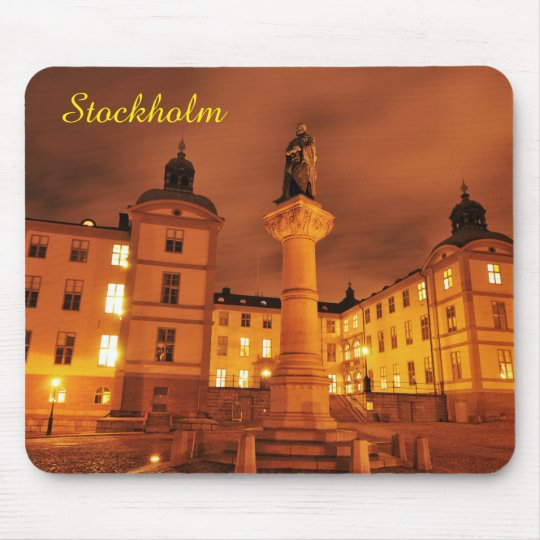 Gamla Stan in Stockholm, Sweden Mouse Mat