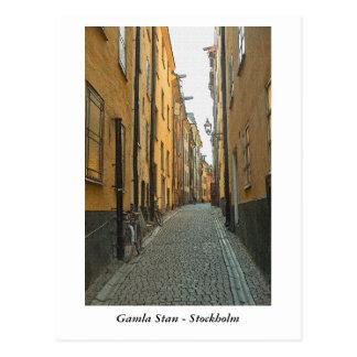 Gamla Stan - Stockholm Postcard