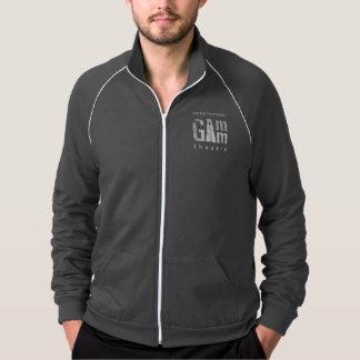 Gamm Theatre Men's Track Jacket Gray