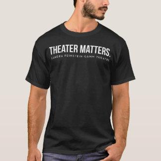 Gamm Theatre - Theater Matters - Men's Tee Gray