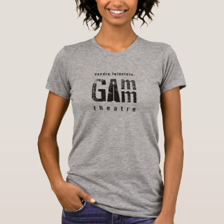 Gamm Theatre Women's Fitted Tee Gray