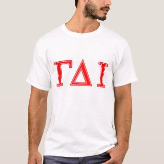 Gamma Delta Iota (Red Letters) T-Shirt