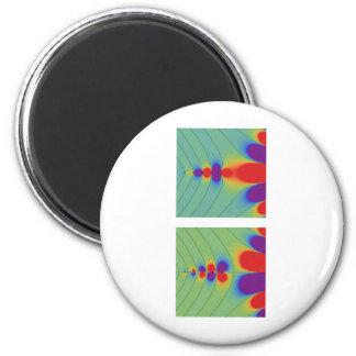 Gamma function 6 cm round magnet