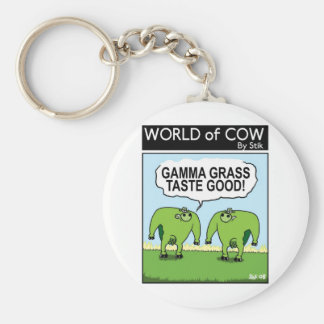 GAMMA GRASS TASTES GOOD! KEY RING