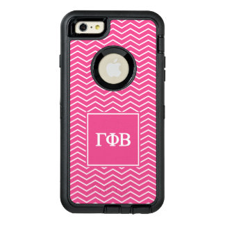 Gamma Phi Beta | Chevron Pattern OtterBox Defender iPhone Case