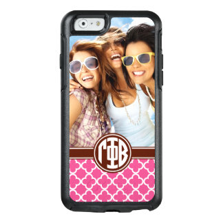 Gamma Phi Beta | Custom Monogram Pattern OtterBox iPhone 6/6s Case