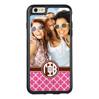 Gamma Phi Beta | Custom Monogram Pattern OtterBox iPhone 6/6s Plus Case