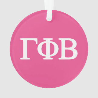 Gamma Phi Beta Lil Big Logo Ornament
