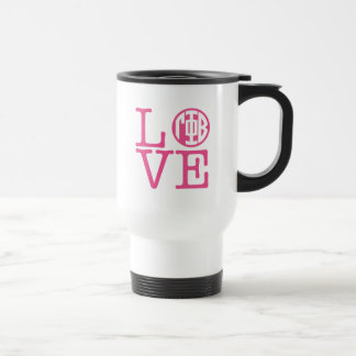 Gamma Phi Beta Love Travel Mug