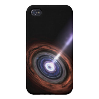 Gamma Rays in Galactic Nuclei iPhone 4/4S Case