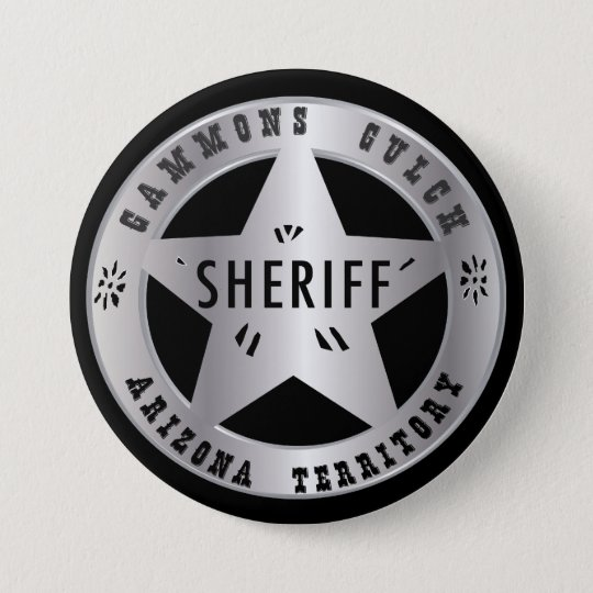 Gammons Gulch Sheriffs Badge