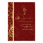 Ganapati Wedding RSVP Cards