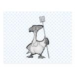 Gancy Goose Postcard