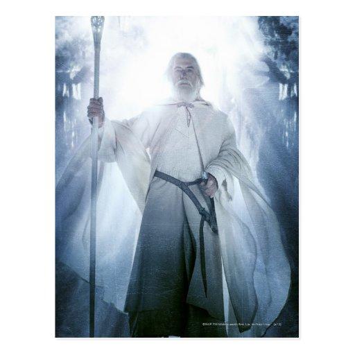 Gandalf Glowing Post Cards