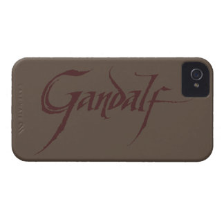 Gandalf Name Solid iPhone 4 Case-Mate Cases