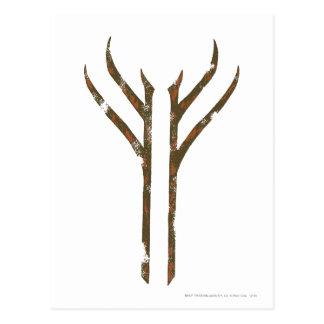 Gandalf Rune Postcard