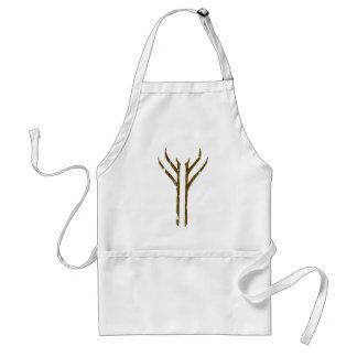 Gandalf Rune Standard Apron