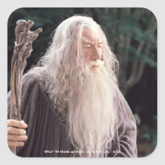 Gandalf Standing Square Sticker