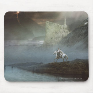 Gandalf Takes Hobbits to Guarded City Mouse Mat