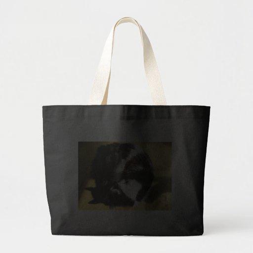 Gandalf, the cat,  Sun Nap Tote Bag