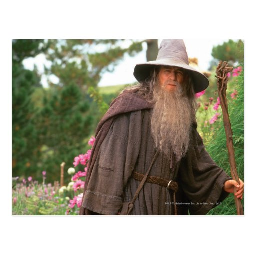 Gandalf with Hat Post Cards