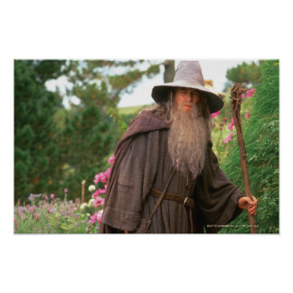 Gandalf with Hat Poster