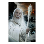 Gandalf with Staff Poster
