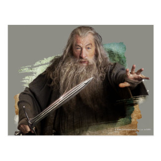 Gandalf With Sword Postcard