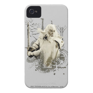 Gandalf with Sword Vector Collage iPhone 4 Cover