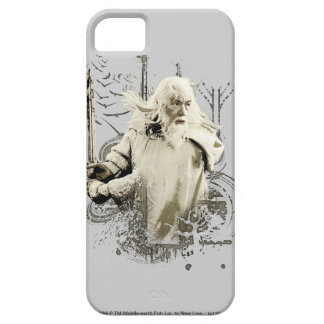 Gandalf with Sword Vector Collage iPhone 5 Covers