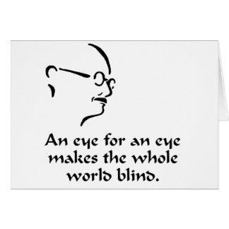 Gandhi - Blind Card