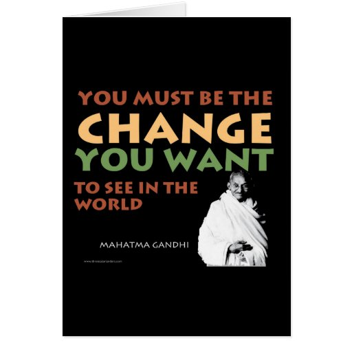 Gandhi Card