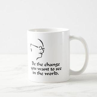 Gandhi - Change Coffee Mug