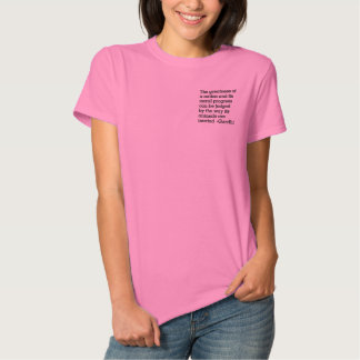 Gandhi & Humane Treatment of Animals Embroidered Polo Shirts