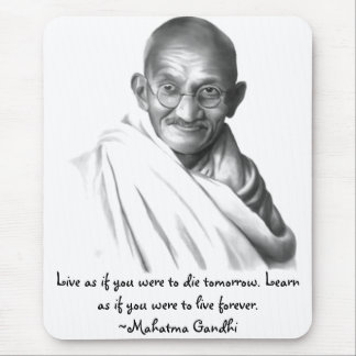 Gandhi Mousepad