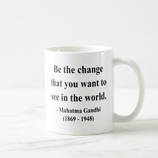 Gandhi Quote 1a Coffee Mug